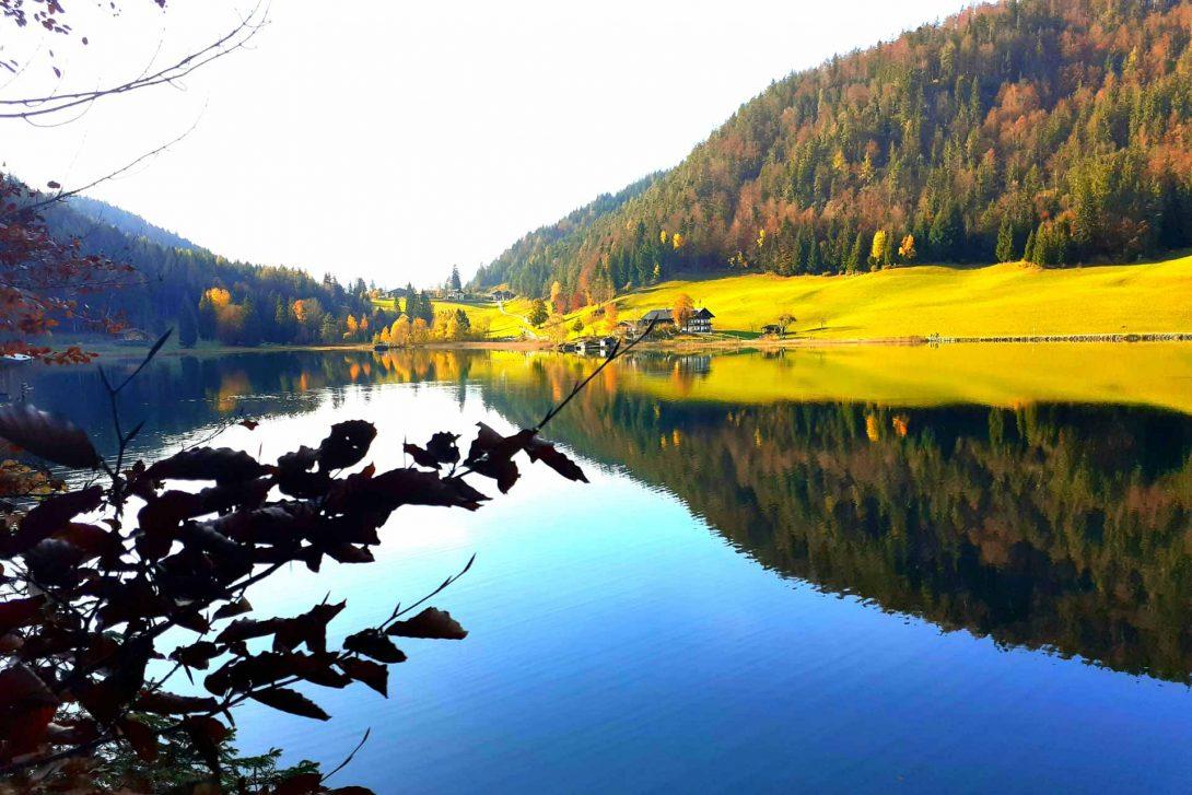 Hintersteiner See Herbstwanderung